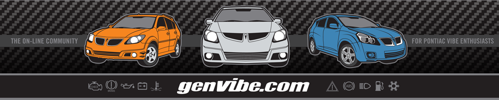 GenVibe.Com - The Online Community for Pontiac Vibe Enthusiasts